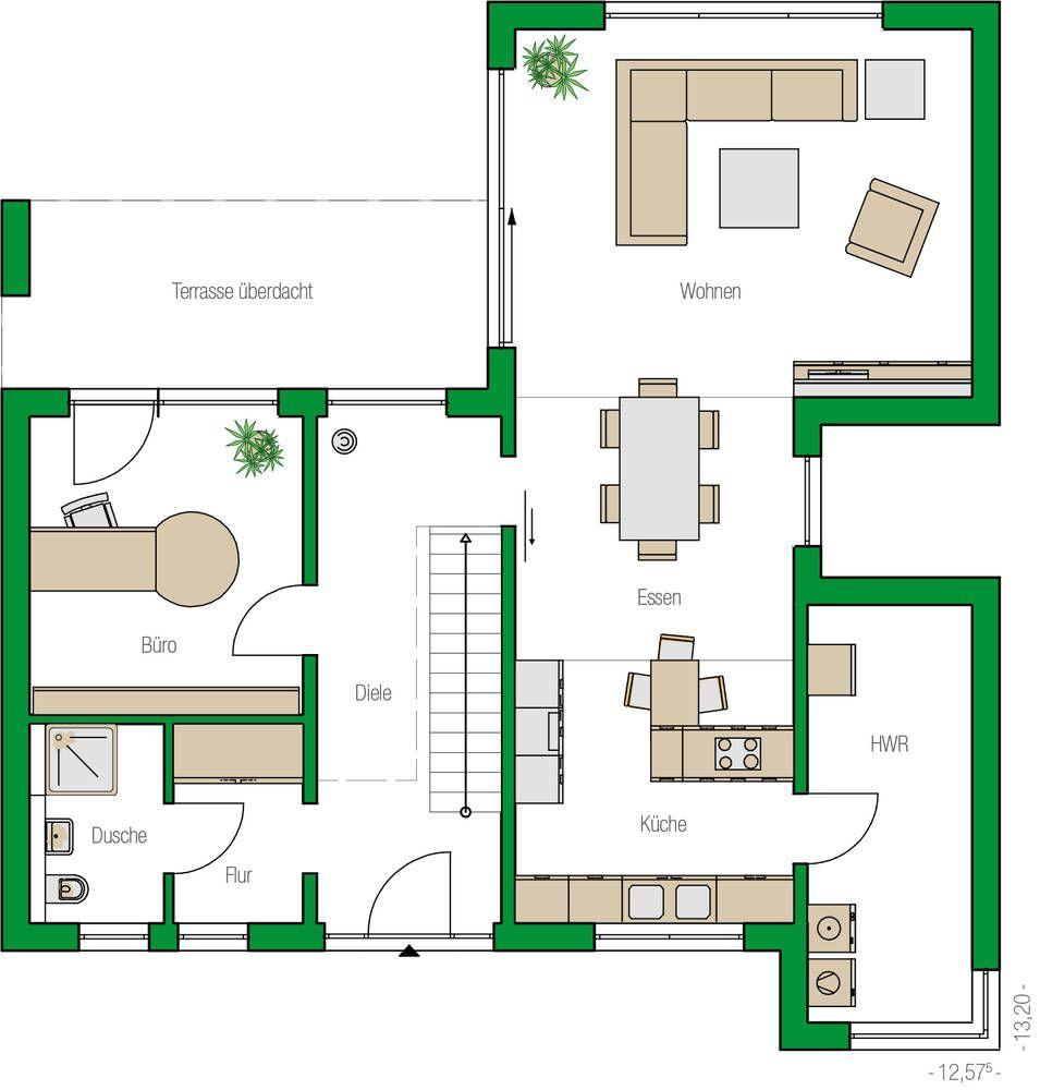 Stadtvilla Lugano Stadtvilla, Haus bungalow, Einfamilienhaus