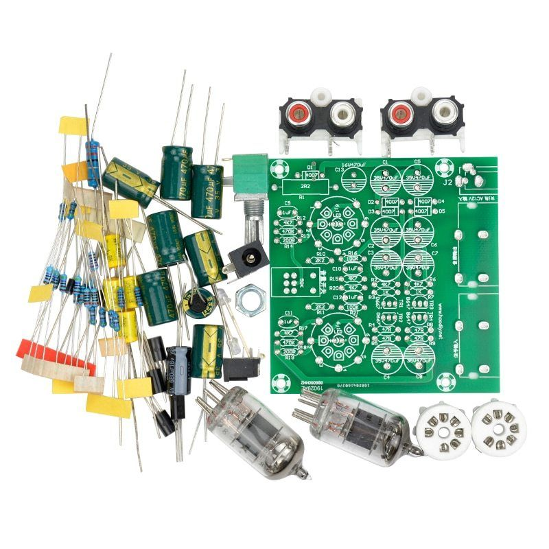 Tube Amplifiers Audio Board Amplifier Pre Amp Audio Mixer 6j1 Valve