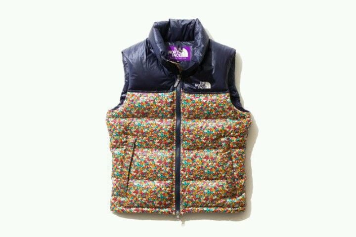f923985ee Down Vest by Liberty x The North Face Purple Label | Fashion ...