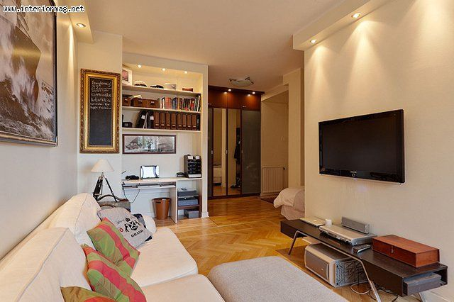 mesmerizing living room office combo ideas | Living Room and Home Office Combo Ideas | Casas