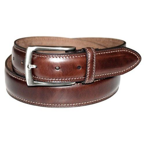 Dockers Mens 35mm Feather Edge Stretch Belt,Brow ($22.5)