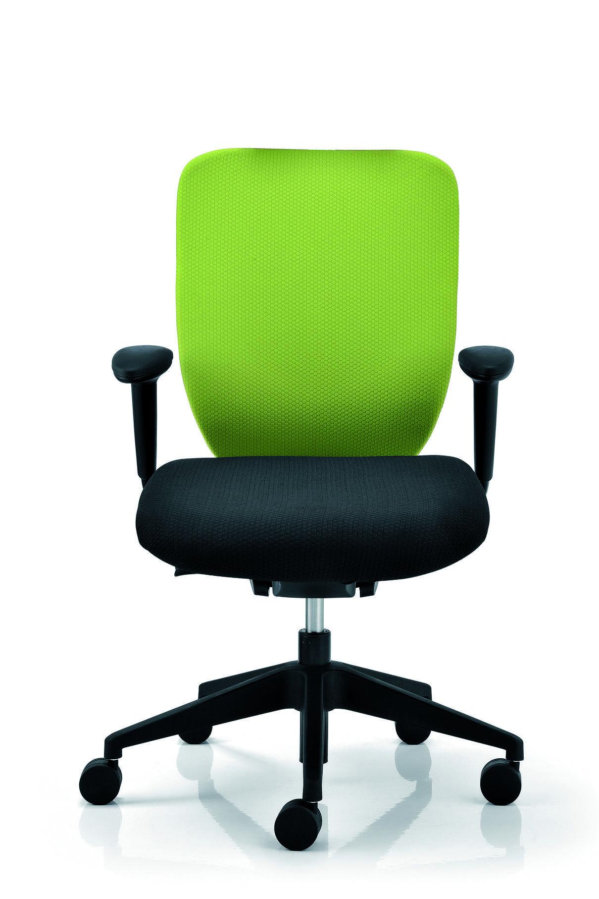 Poltrone Con Ruote Per Ufficio.Seduta Operativa Poltrona Base Con Ruote Braccioli E Sedile