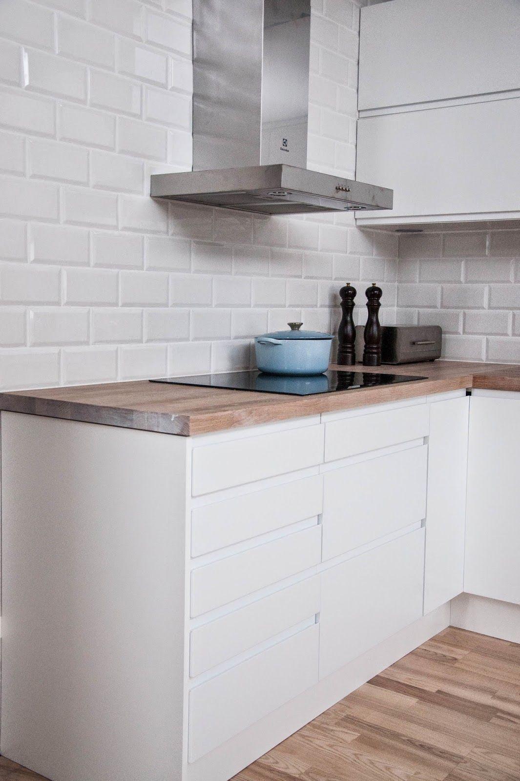 litt detaljer subwaytiles subway tiles kitchen kjkken - Subway Tile House Interior