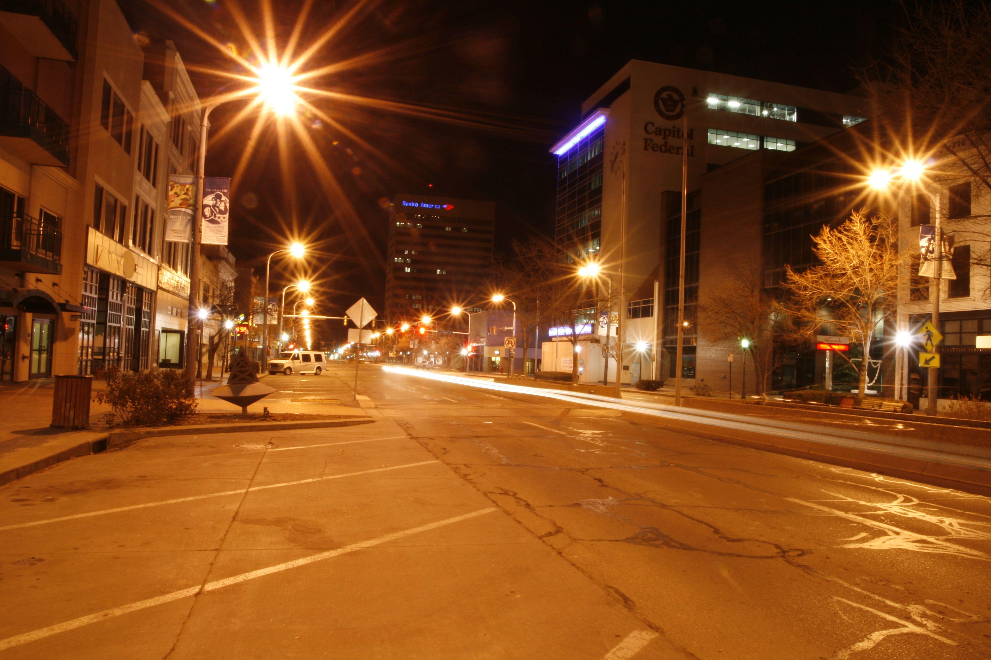 topeka at night