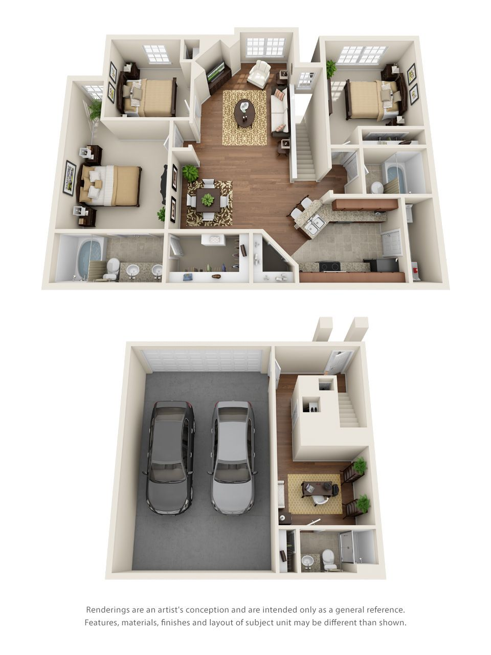 1 2 3 And 4 Bedroom Floor Plans Kensington By The