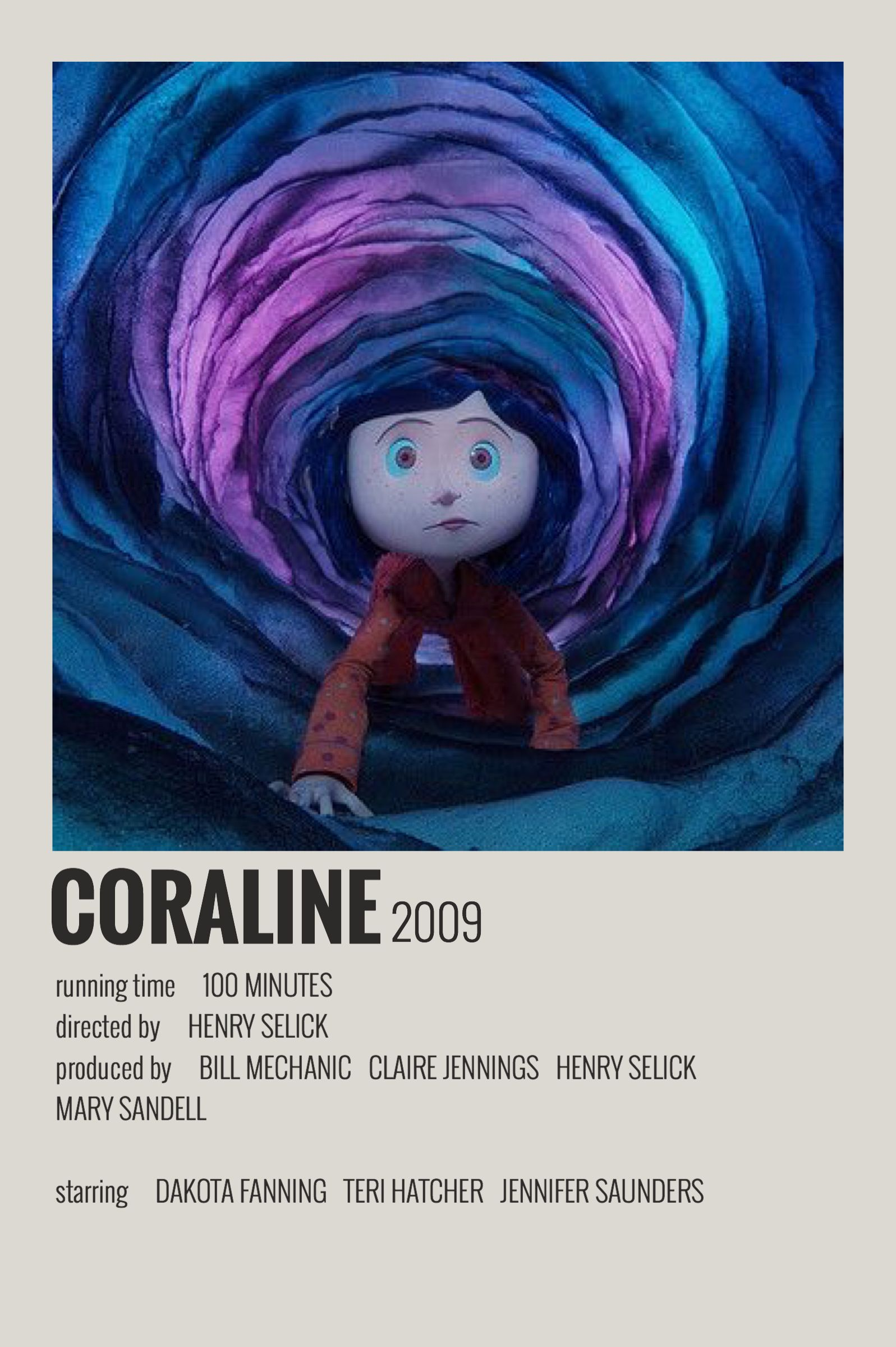 coraline official movie poster