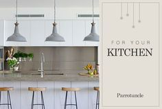 Be inspired by these kitchen designs to update your space!