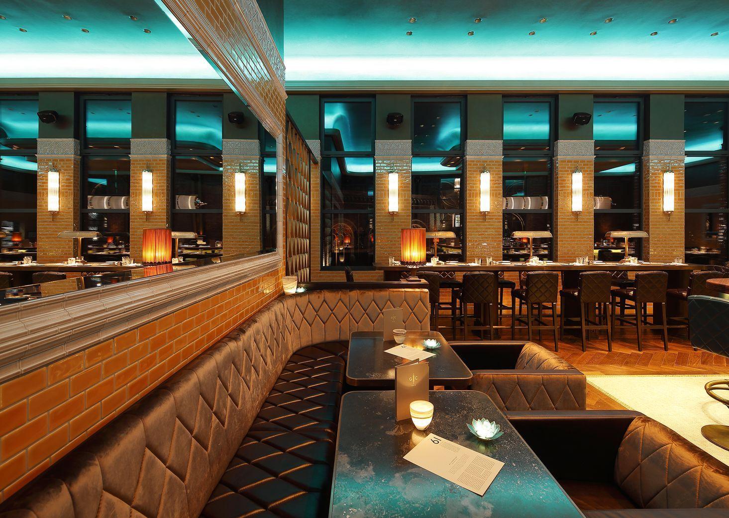 """Restaurant & Bar HOHOFFS 800° """"The Golden Cage"""" Bar, Einrichtung. www.schnieder.com ..."""