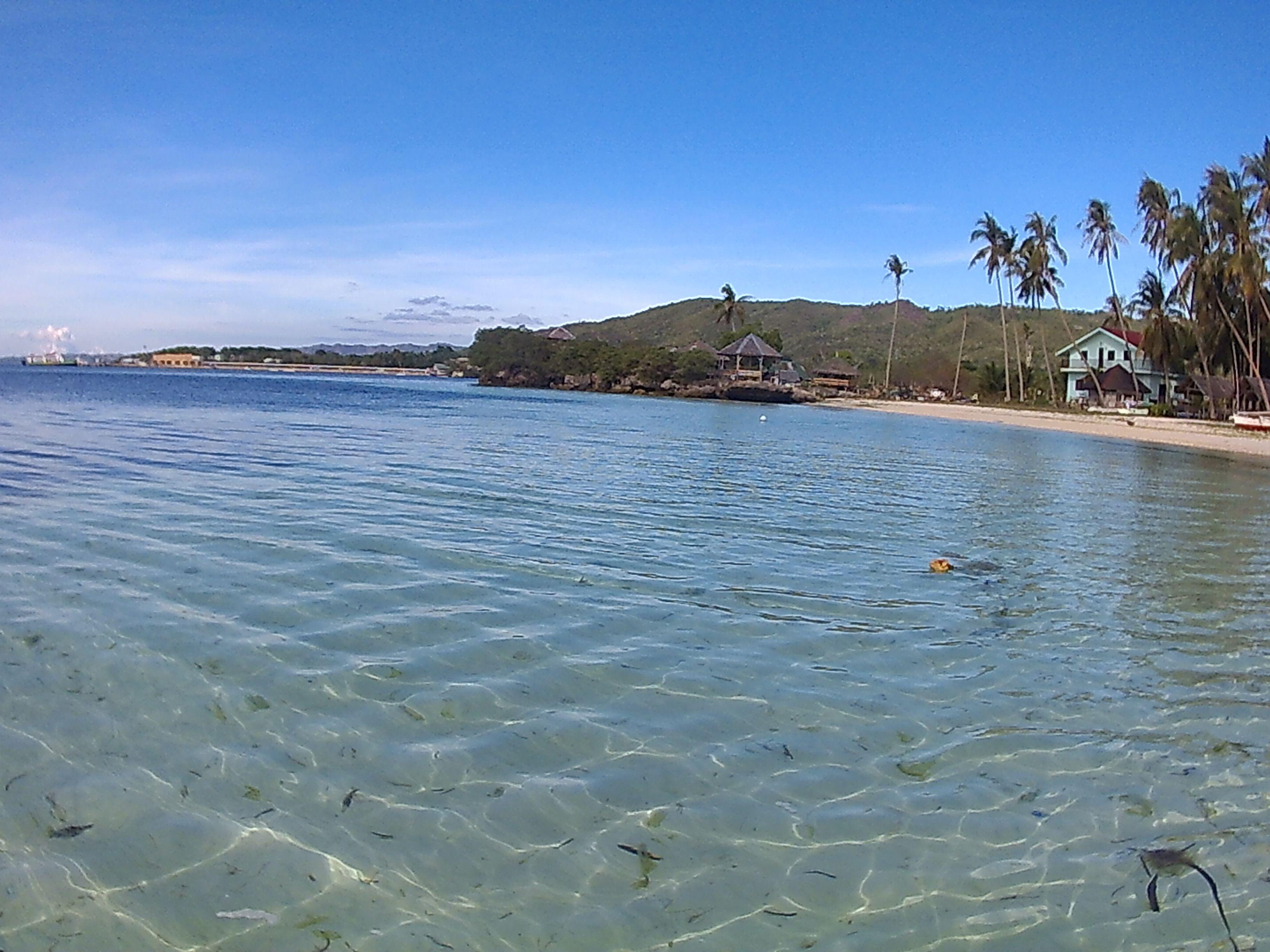 Playa en Siquijor para nosotros solos