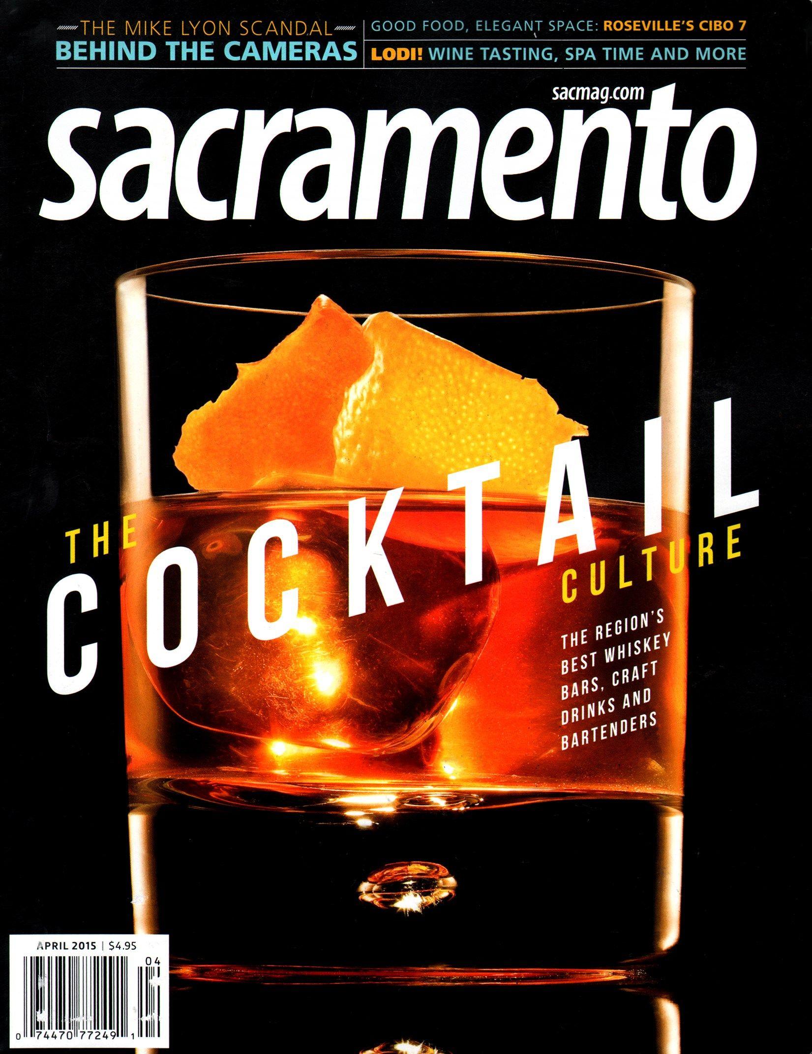 Sacramento Cover For 4 1 2015 Bartender Whiskey Bar Cover