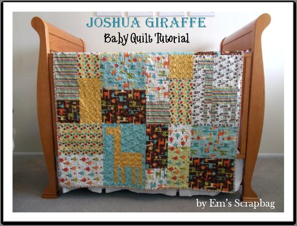 Riley Blake Designs -- Cutting Corners: Recent Blog Articles ... : giraffe baby quilt pattern - Adamdwight.com