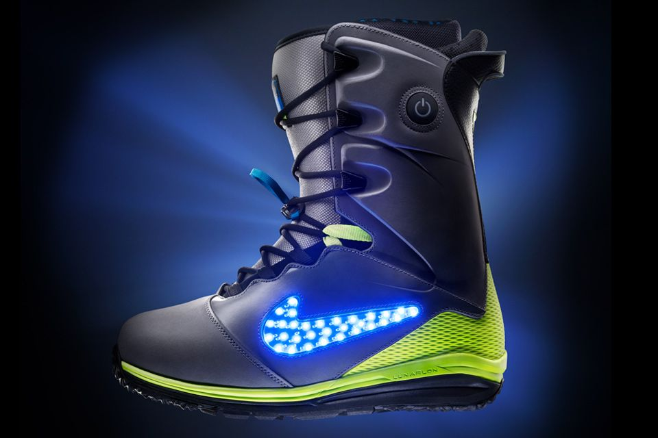 Light up the mountain with these boarding boots