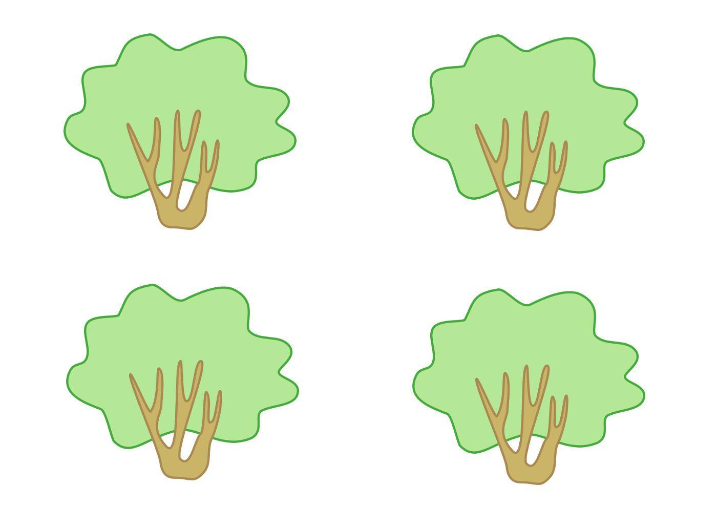 Ореховый куст, рисунок | деревья | Pinterest
