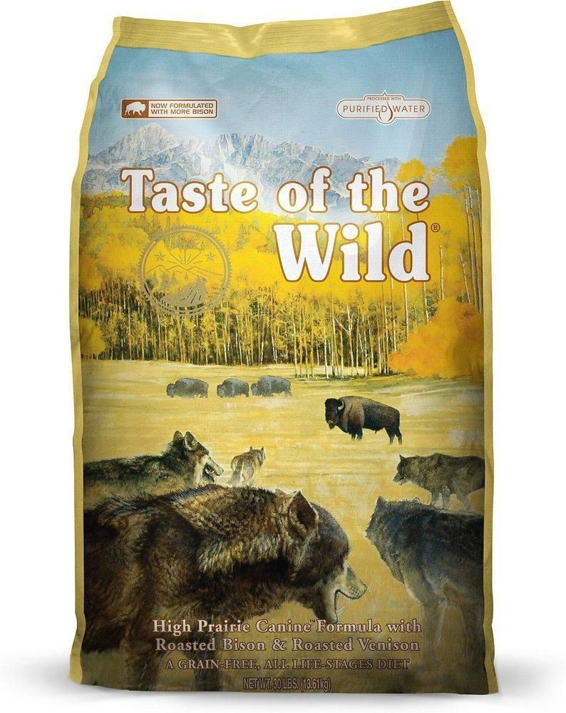 Taste Of The Wild High Prairie Dry Dog Food Best dry dog