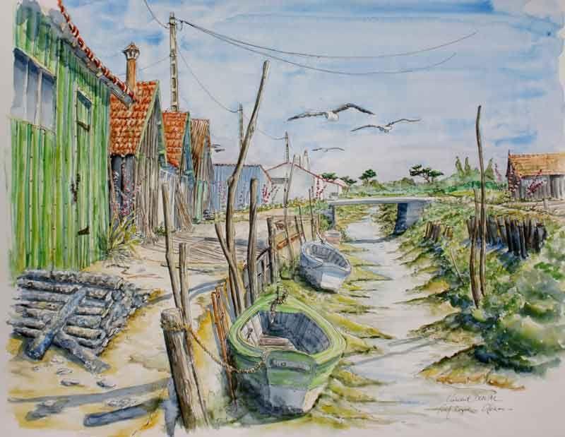 Artistes Peintres La Rochelle Ile De Re Ile D Oleron Ile D