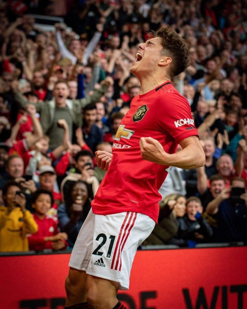 Pure passion! 🔴⚪️⚫️ 11/8/2019 Manchester united team