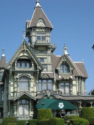 The House On Red Hill The Carson Mansion And The Victorians Of Humboldt County Carson Mansion Mansions Eureka