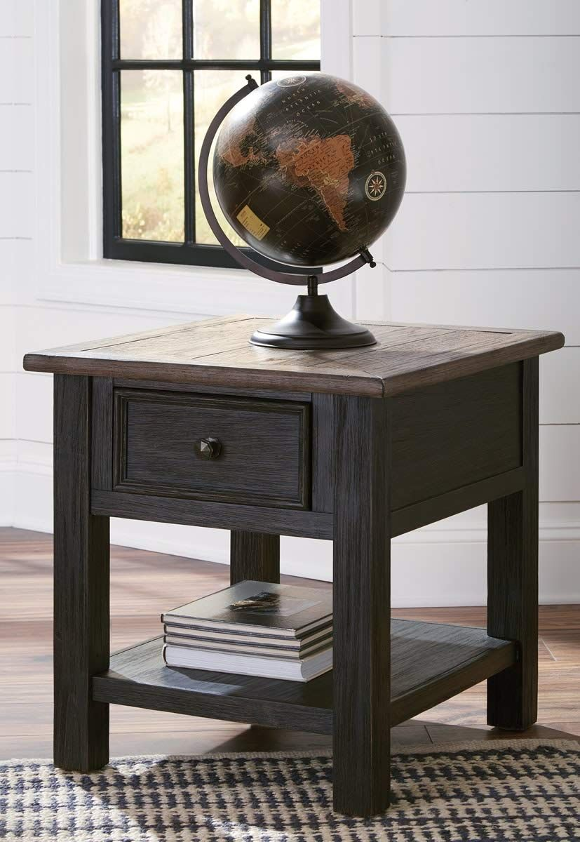 Signature Design By Ashley T736 3 Tyler Creek End Table Grayish