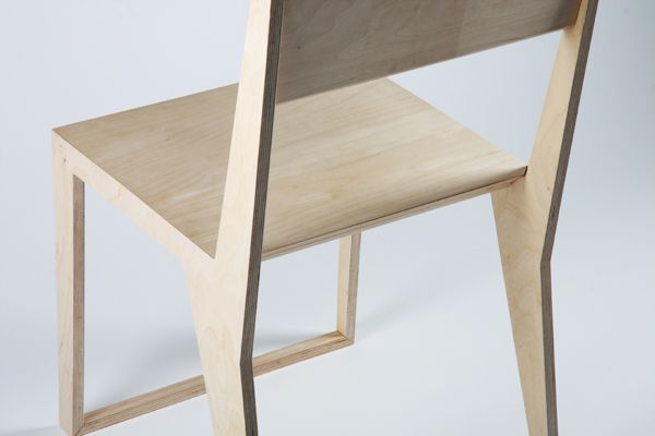 PUNAR plywood stool on Behance Wood Chairs Pinterest Sillas