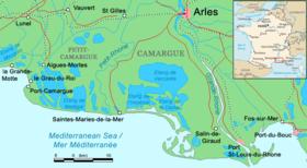 La Camarga Francesa Mapa.Mapa De La Camarga Viajes Mundo En 2019 Sur De Francia