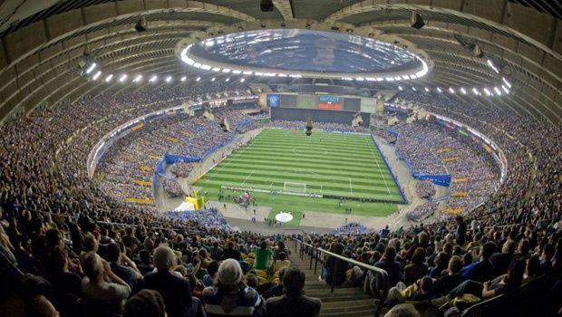 58,912 watch the Montreal Impact at Olympic Stadium on Nexxfield portable synthetic turf on March 17, 2012
