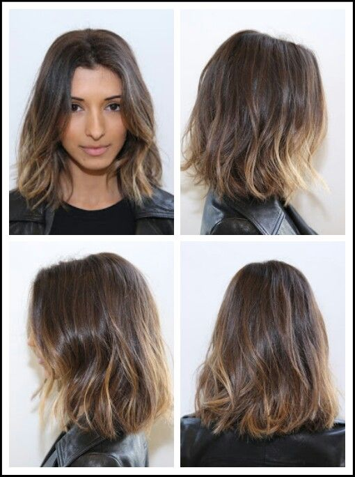 how to cut shoulder length hair into layers