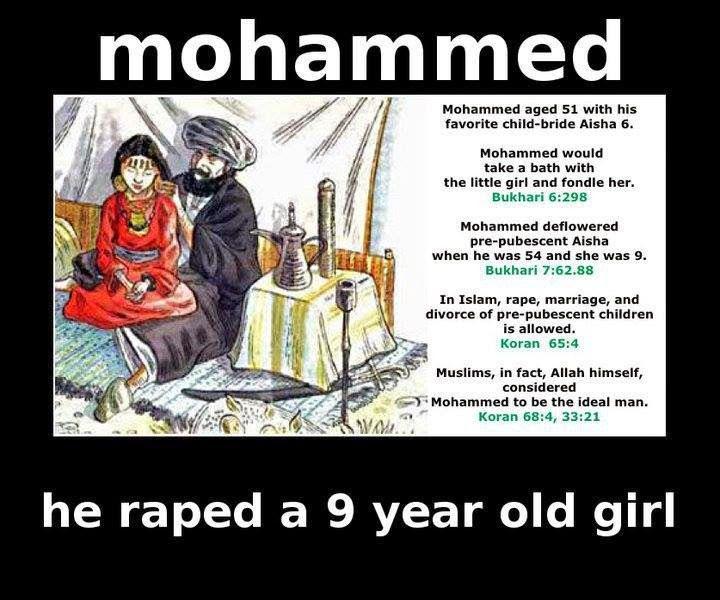 Resultado de imagen para muhammad PEDOHPILE characteristics