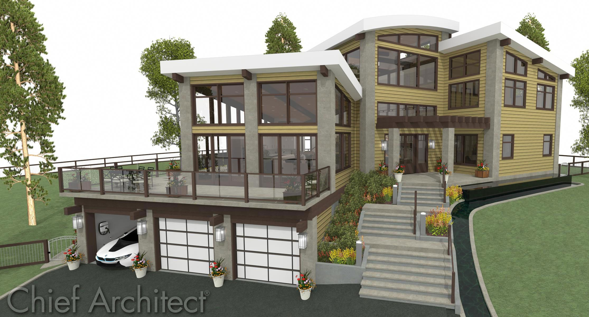 Genial House · Chief Architect Home Design Software ...