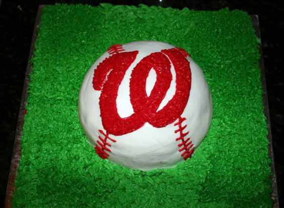 Washington Nationals cake Cakes Ive Created Pinterest Cake