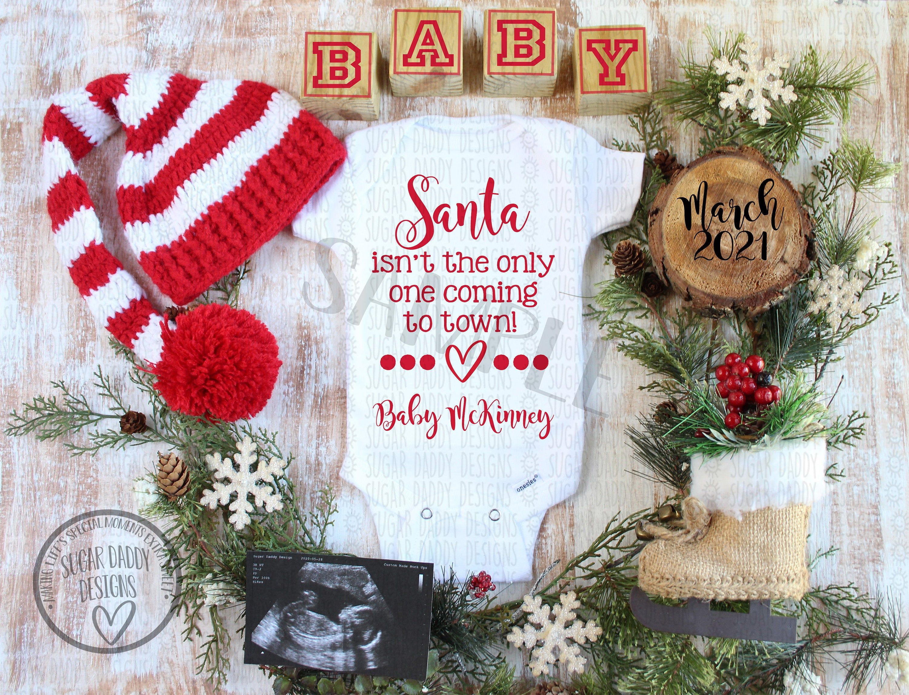 Pin On Christmas Pregnancy Announcement