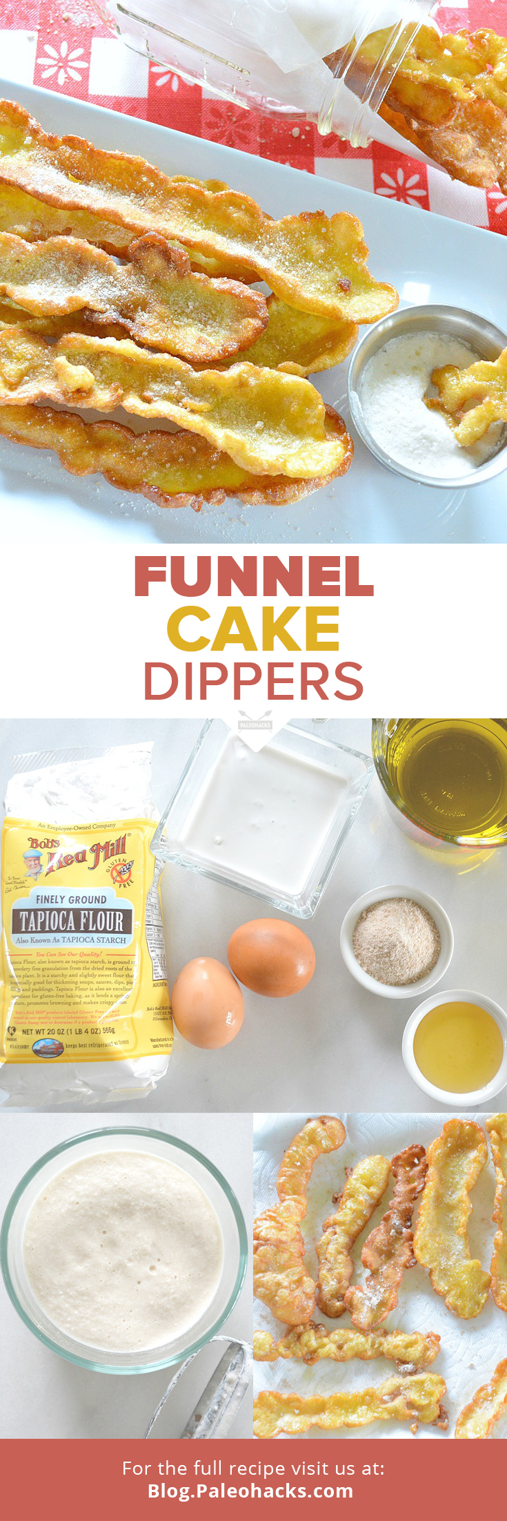 Funnel Cake Dippers Recipe Paleo Diet Recipes Food