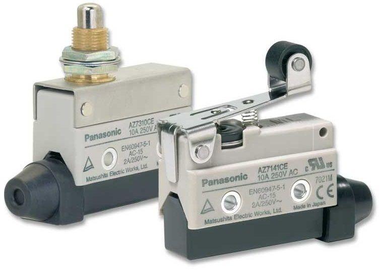 Limit Switch Animation Cnc Manufacturing Switches Panasonic
