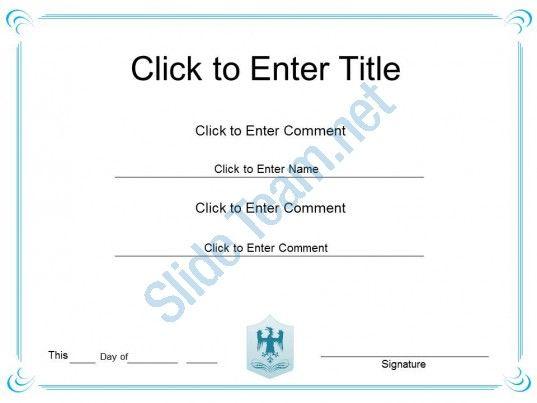Corporate Success Diploma Certificate Template Of Appreciation