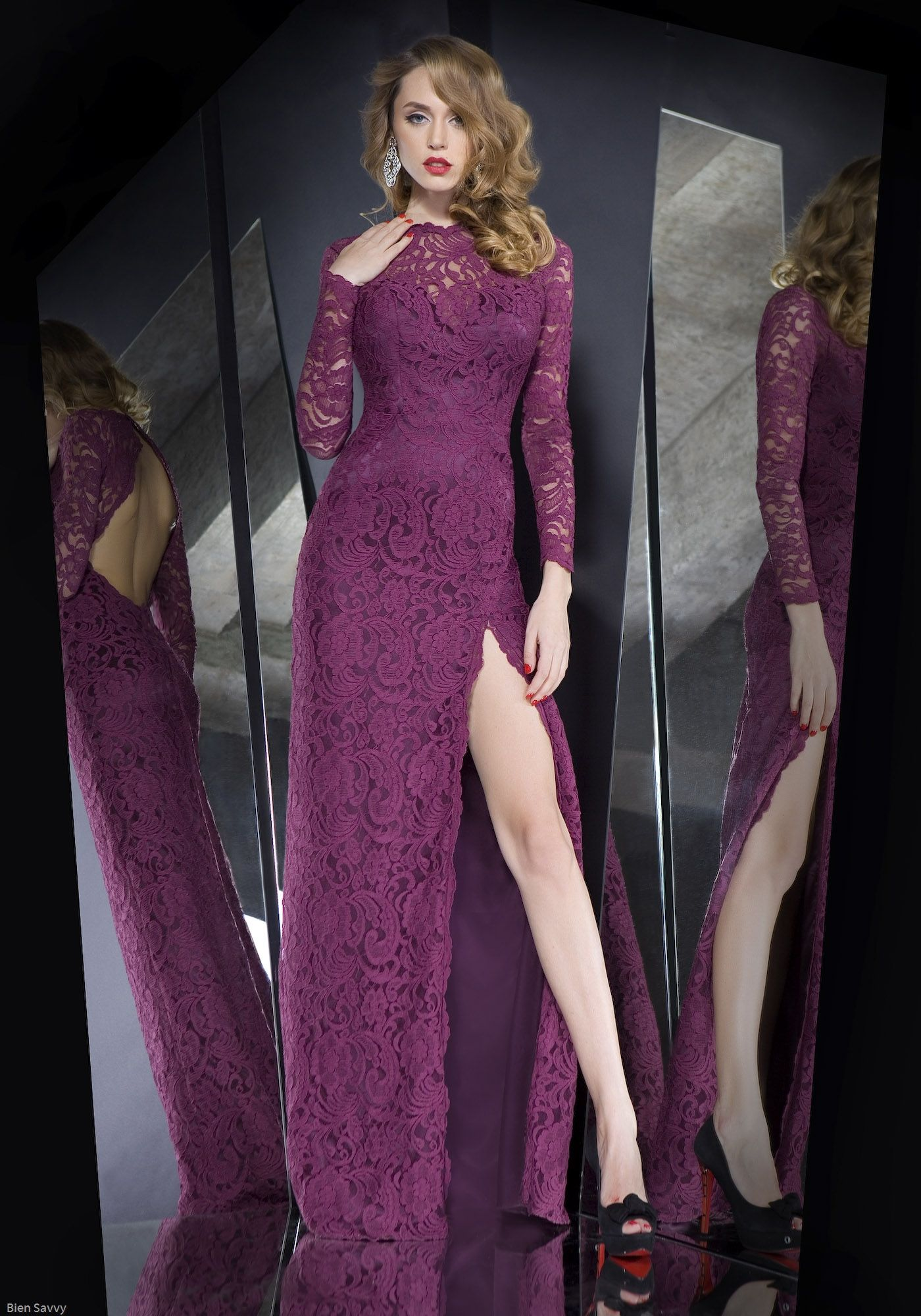 Amazing Long Sleeve Party Dresses : Stunning Long Sleeve Party ...