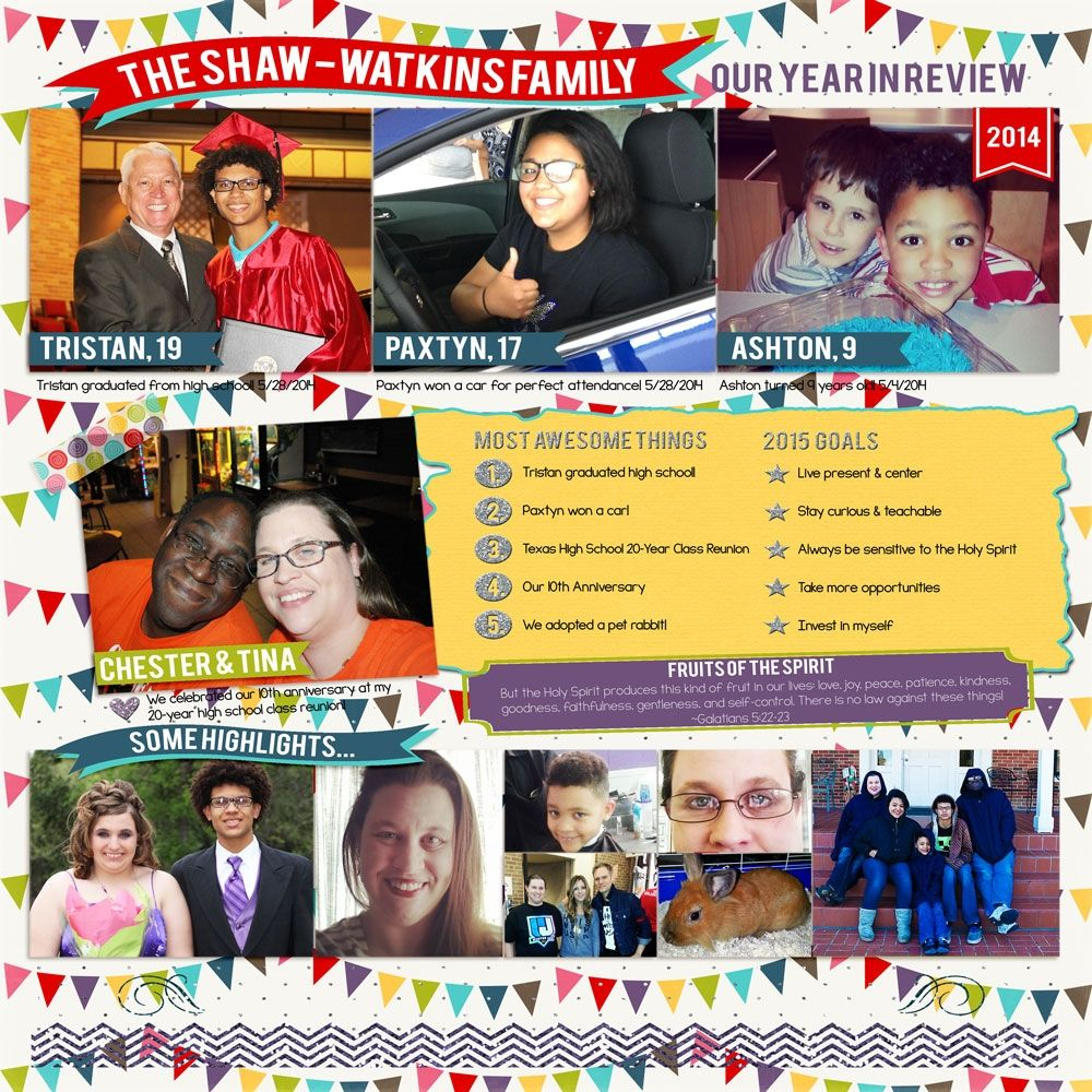 Family Album 2014: Year in Review