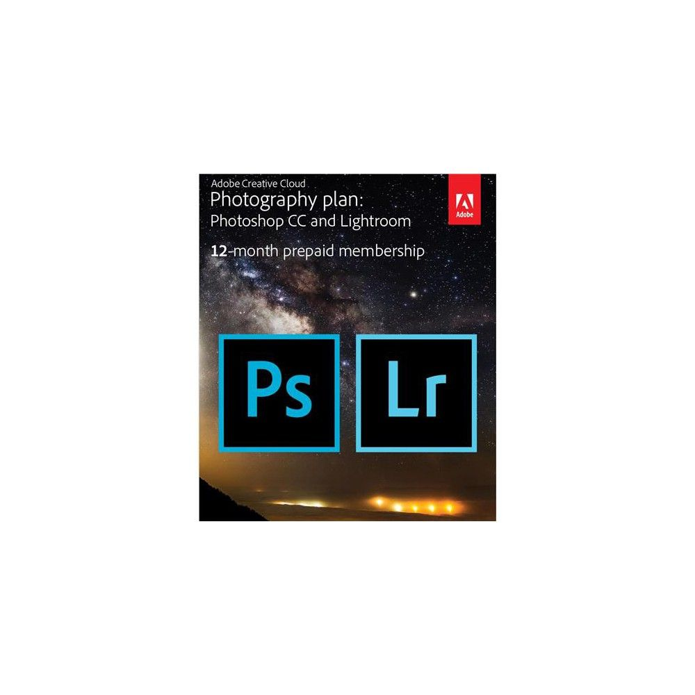 Adobe Creative Cloud Photography Plan With 20gb Cloud Storage 12 Month Subscription Key Card Adobe Creative Cloud Creative Cloud Clouds Photography