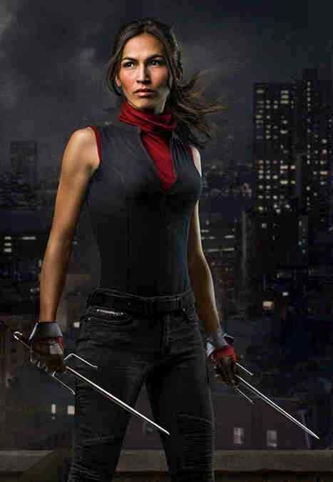 Image result for elektra daredevil tv outfit