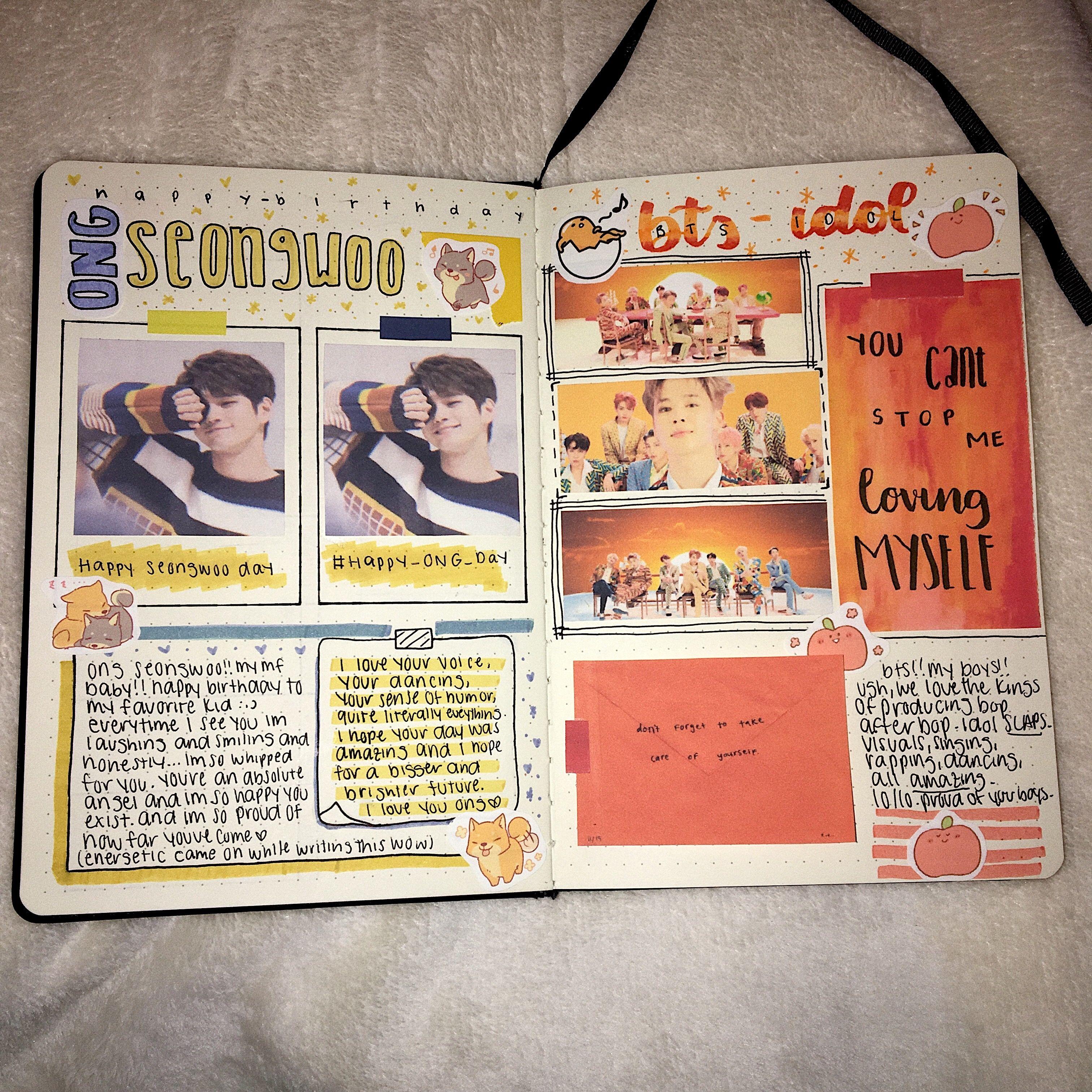 Kpopjournal Journal Book Cover Kpop