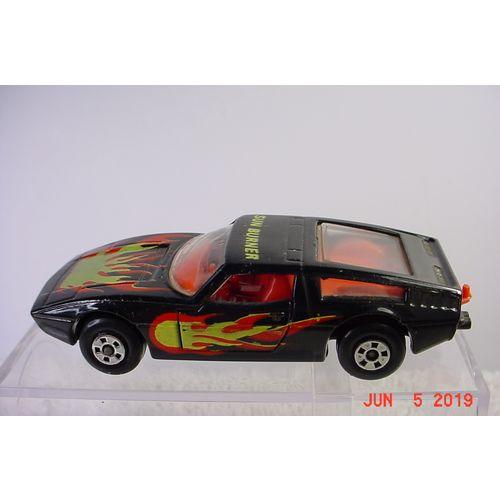 Toyota Celica Sun Burner Black 1/64 37 1973 Matchbox