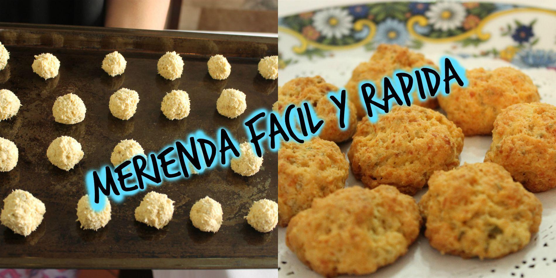 Merienda facil y rapida. Pansitos de queso y especias.