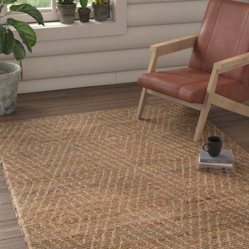 Pace Handwoven Natural Ivory Area Rug Reviews Allmodern Rug Size Area Rugs Brown Area Rugs