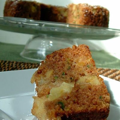 Pineapple Zucchini Cake (without) Cream Cheese Frosting(from the Pioneer Woman)