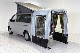Optional Rear Tailgate Awning Karavanlar Araba