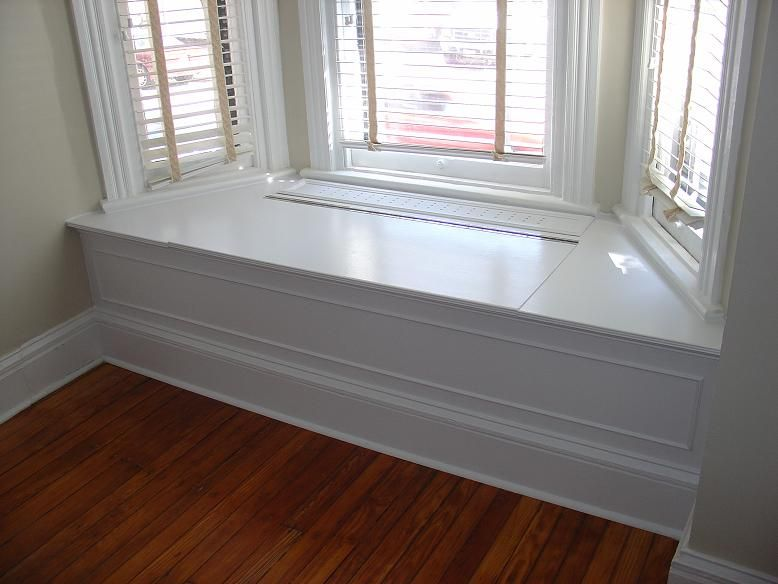 Wonderful Window Benches Ideas Part - 14: Bay Window Bench Idea--make It Hollow With A Lift-up Bench Seat