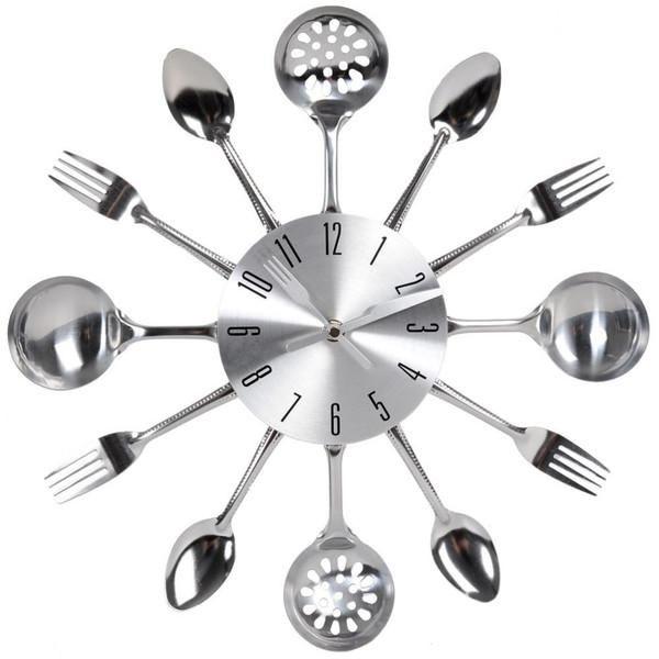 Horloge Chrome Cuisine Avec Images Maison Du Monde Horloge Metal Horloge Cuisine