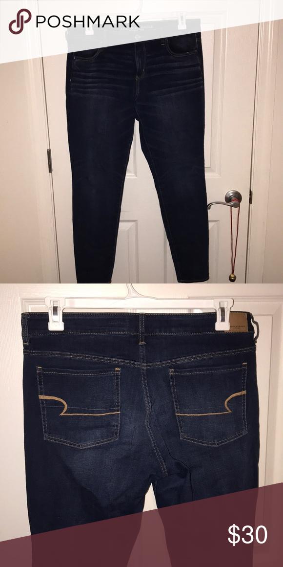 Quality Fashionable Designer Jean Style Jeggings//Leggings One Size UK 8-12 BNIP