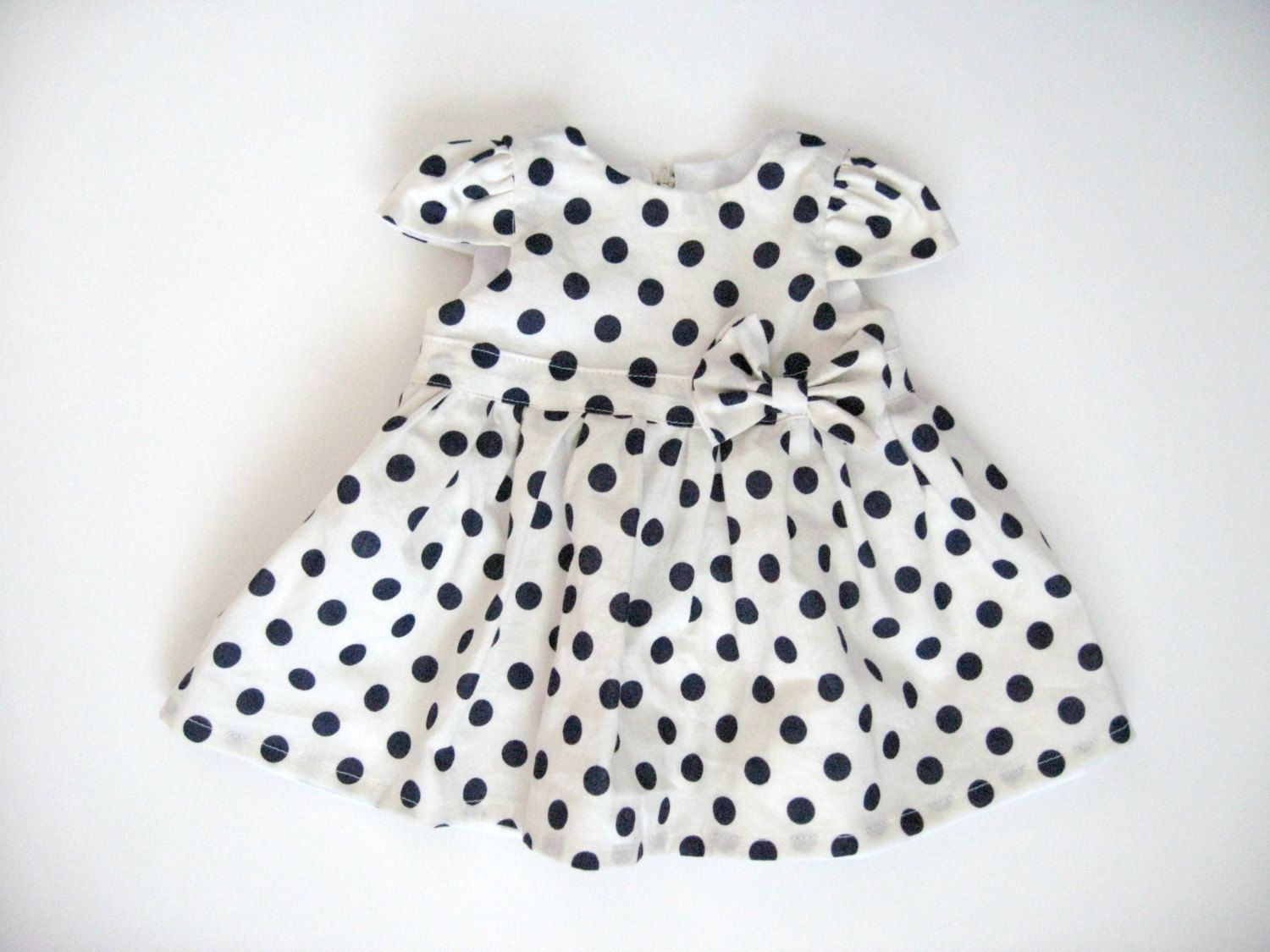Black and white baby dresses