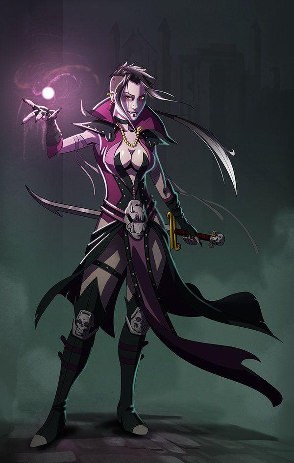 dark elf sorcerer artwork google search characters