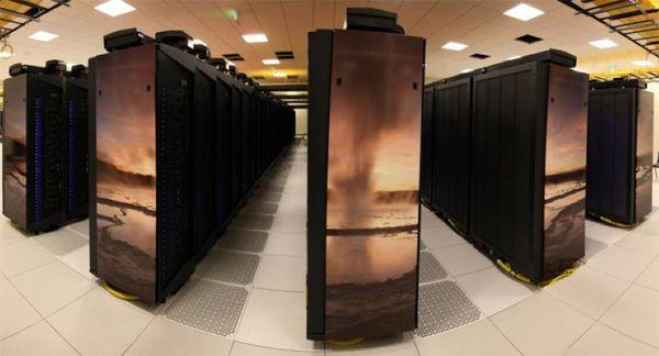 Yellowstone supercomputer at NWSC
