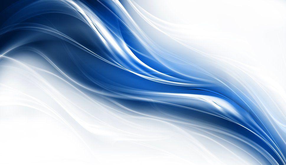 Líneas, Curvas, Azul Wallpaper